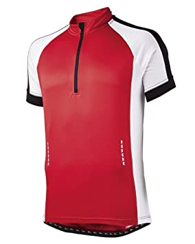 Crivit Sports Men s Cycling Jersey - Red White - size L (52 54 ... 41d2c04cb