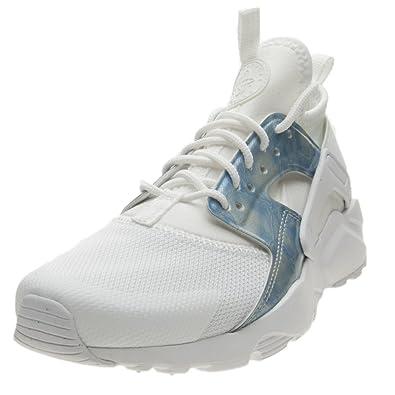 372723779a2a5f Nike Filles Air Huarache Run Ultra GROUNDSCHOOL Weiss Blau Sneaker ...