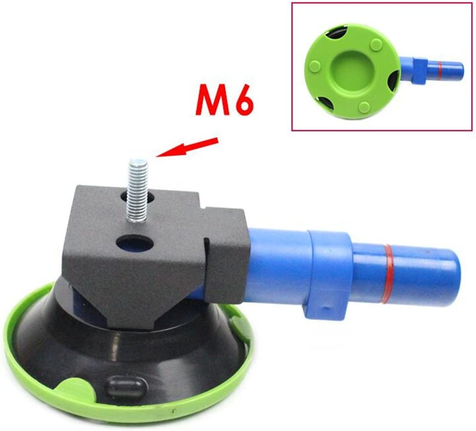 3 Concave Vacuum Cup 75mm Heavy Duty Hand Pump Suction Cup with M6 Threaded Stud