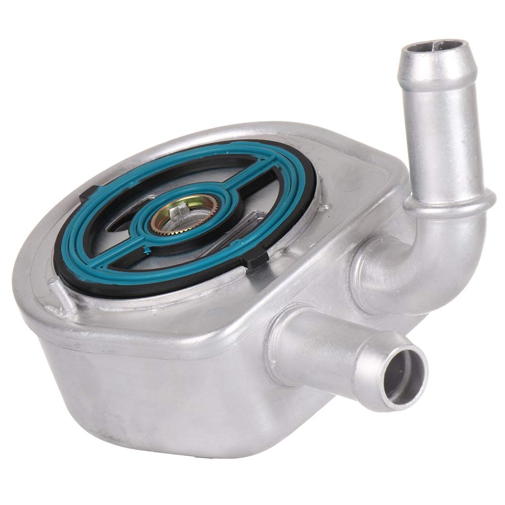 TUPARTS Aluminum Engine Oil Cooler Fit for 2007-2014 Mazda 3 5 6 CX-7
