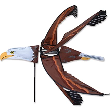Amazon flying eagle spinner wind sculptures garden outdoor flying eagle spinner altavistaventures Image collections