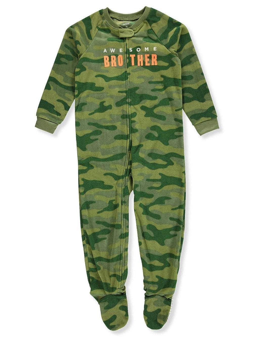 Amazon.com  Carter s Boys  12M-8 Camo Dog Fleece Pajamas  Clothing 1f6fbc361