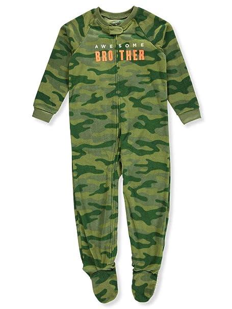 443334bf7f2b Amazon.com  Carter s Boys  12M-8 Camo Dog Fleece Pajamas  Clothing