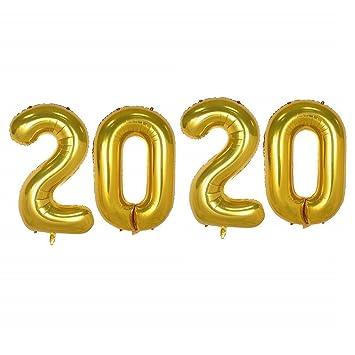 Amazon.com: Creaides 2020 Globos de helio grandes, 40 ...