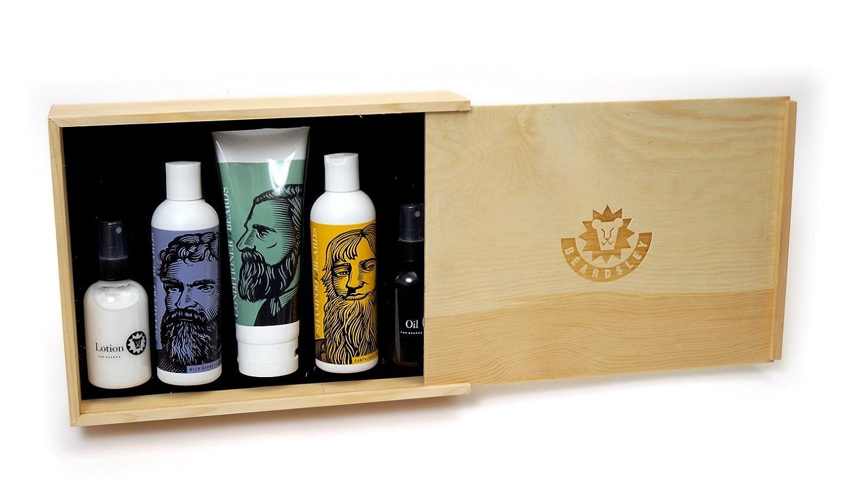 Amazon.com : Beardsley In The Box Beard Care Gift Set - Full Size ...