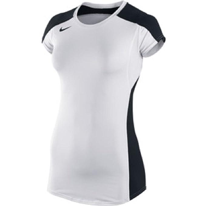 Para Nike peque Mujer Blanca De 2020 Voleibol a Camiseta Manga nq41FxX