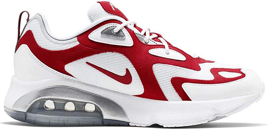 Nike AQ2568-100 Air Max 200 Chaussures pour Homme Rouge ...