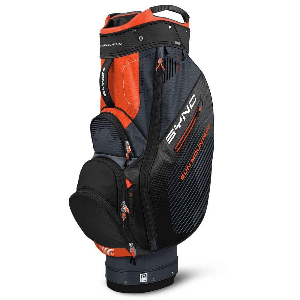 Sun Mountain 2017同期カートバッグ B01K30QMC6 Slate/Black/Orange Slate/Black/Orange
