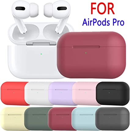 usawen Housse de Protection pour AirPods ProAir Pods 3 2019 AirPods ProAirPods 3 Case AirPods Pro Coque de Protection en Silicone pour AirPods Pro