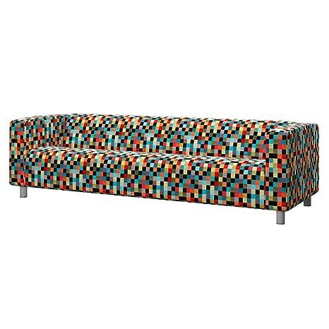 Soferia - IKEA KLIPPAN Funda para sofá de 4 plazas, Mozaik ...