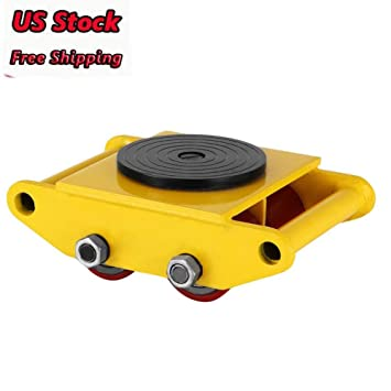 Dollies by Feiuruhf, Machinery Mover 6T 13200LB Capacidad Maquinaria Patines Industrial Maquina Mover 4 Rodillos