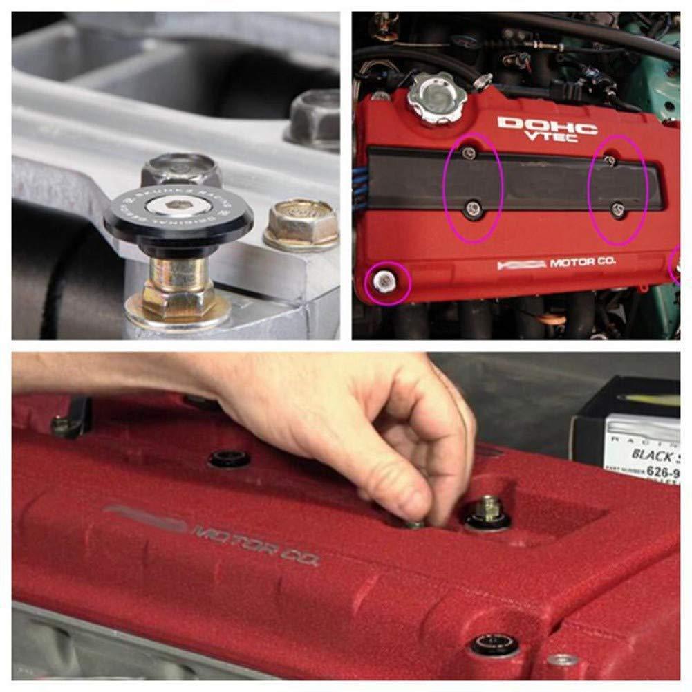 FairOnly Kit de Lavado de la Tapa de la v/álvula del Motor para Coche Modificado Hon-da Civi-c Serie B Accesorios