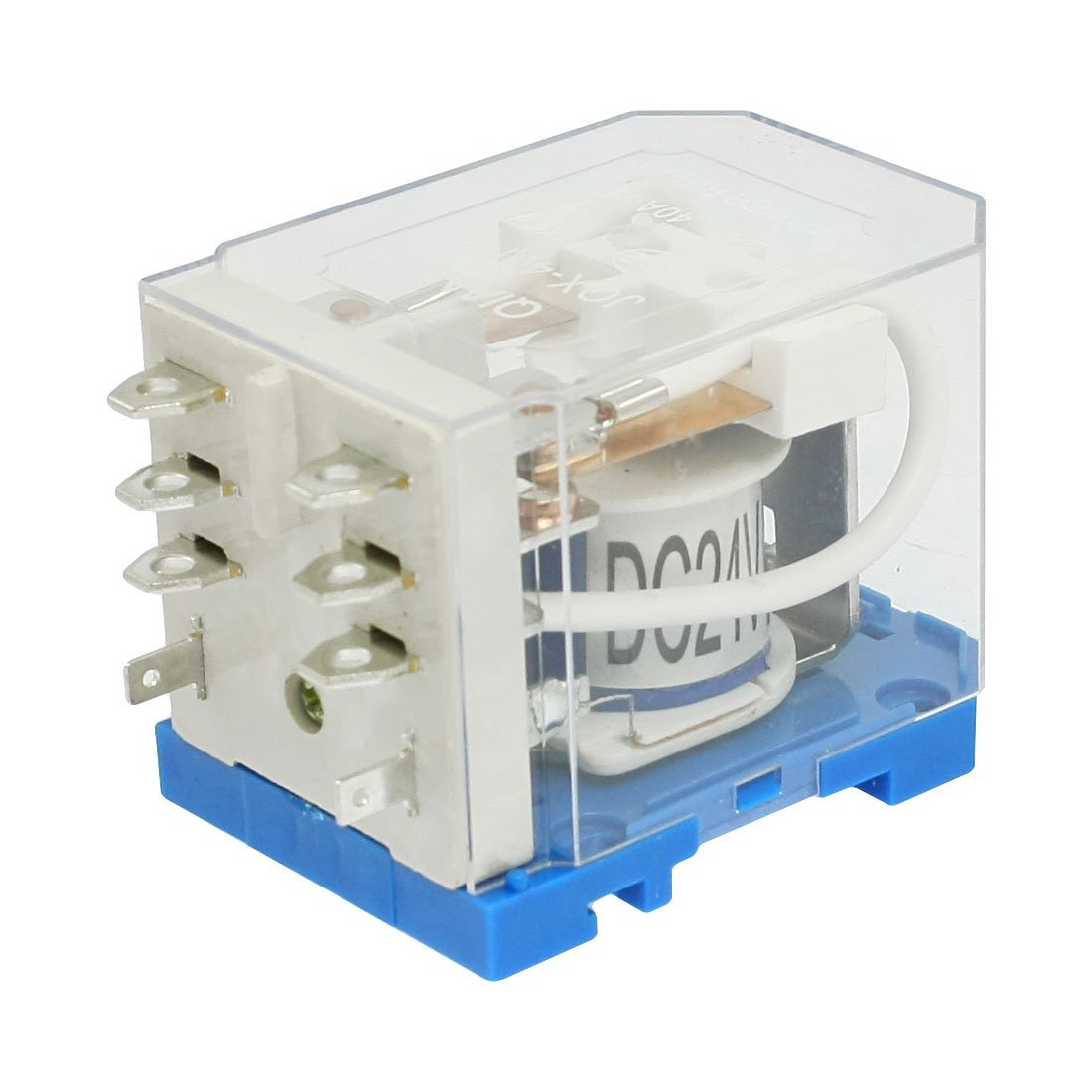 JQX-40F-2Z Voltaje de la bobina DC 24V 40A de 8 contactos de rel/é ELECTROM/ÁGNETICOS