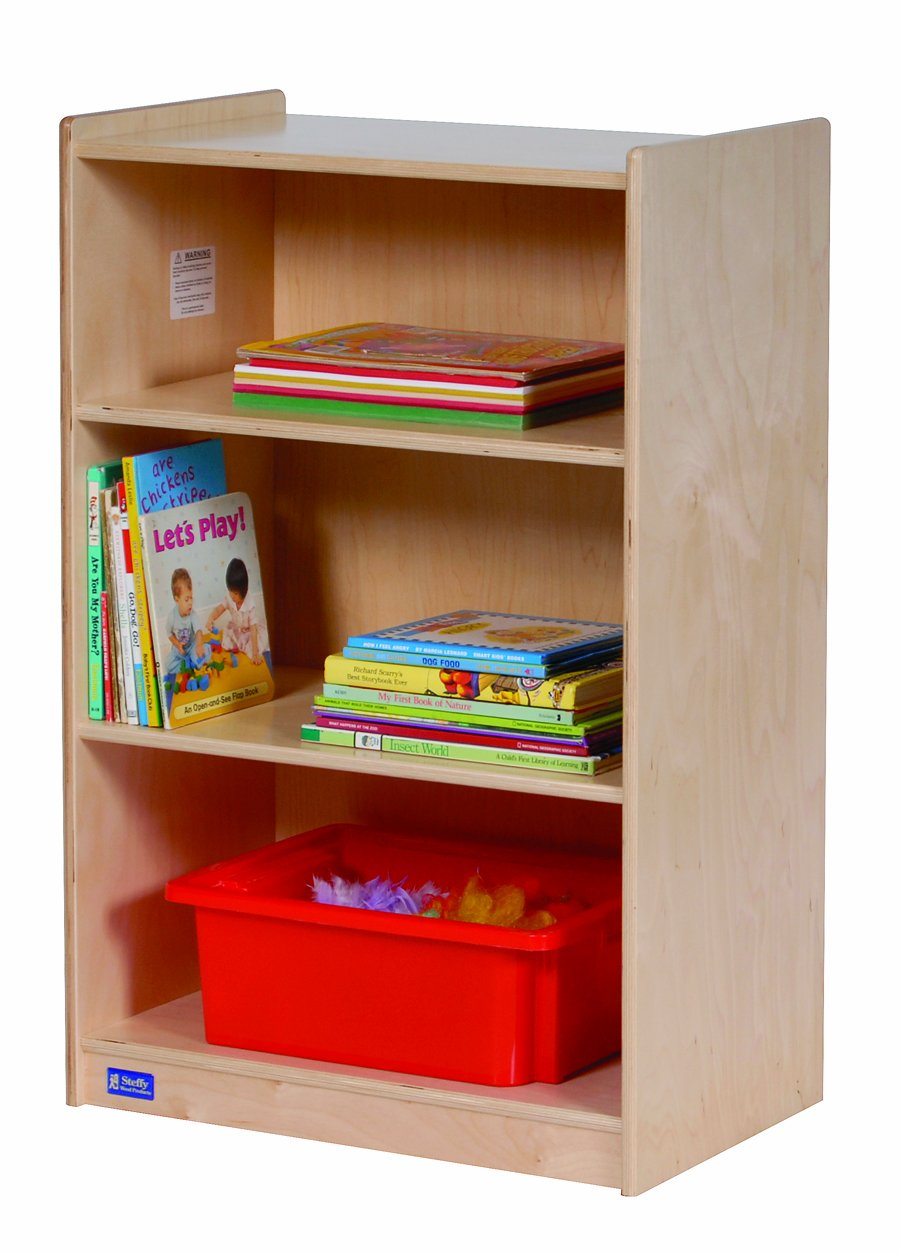 Image of Classroom Furniture Steffy Wood Products Small Storage Unit