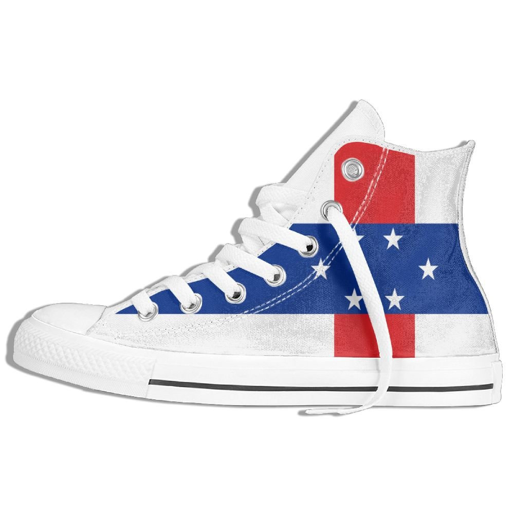 a27579593b1 Amazon.com: Flag Of The Netherlands Antilles Unisex High Top Classic ...