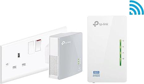 TP-LINK TL-WPA4220 2-pack PowerLine Network Adapter Kit