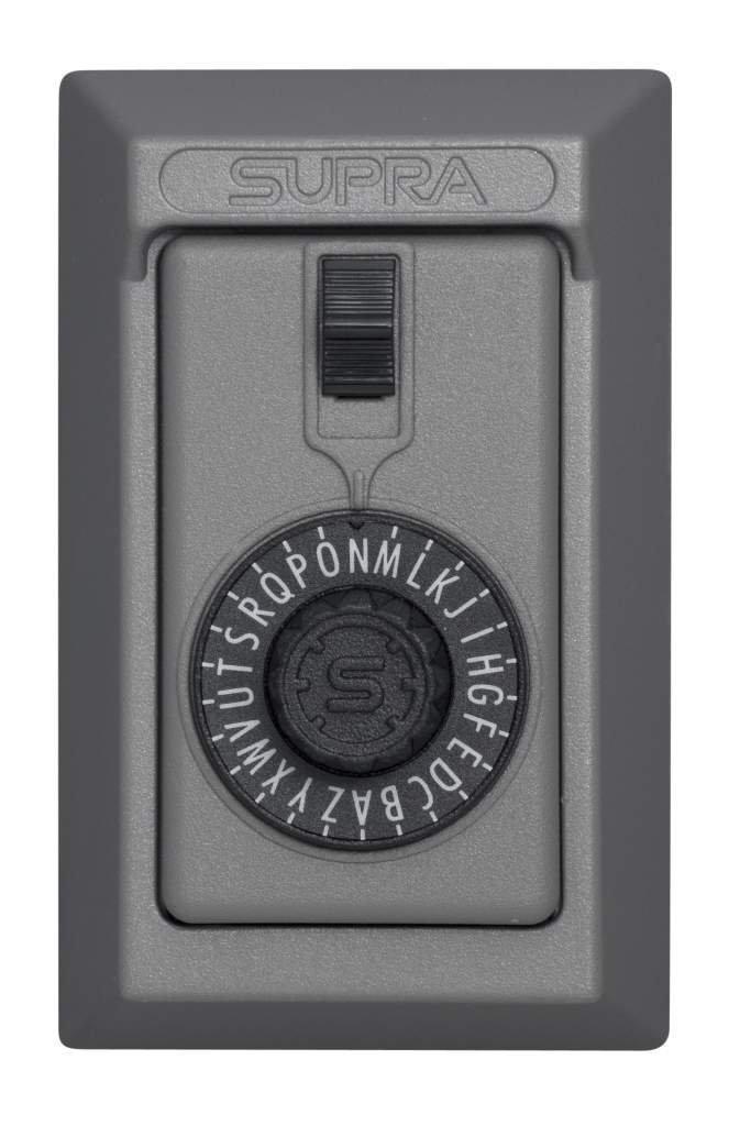 Kidde AccessPoint 001014 KeySafe Original 5-Key Permanent, Spin Dial, Titanium Gray by Kidde