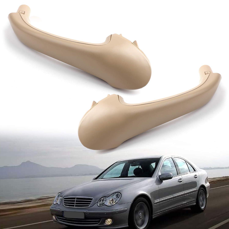 RoadRoma Manija de la Puerta Delantera o Trasera Gris Interior Derecho del Lado del Conductor Interior para Suzuki