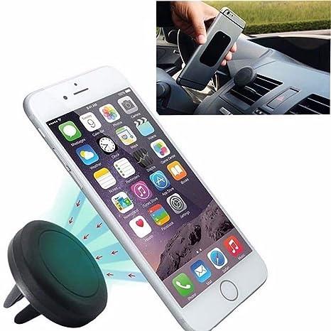 Soporte magnético para la ventilación para coche soporte para teléfono móvil GPS Dispositivos Manos Libres Universal