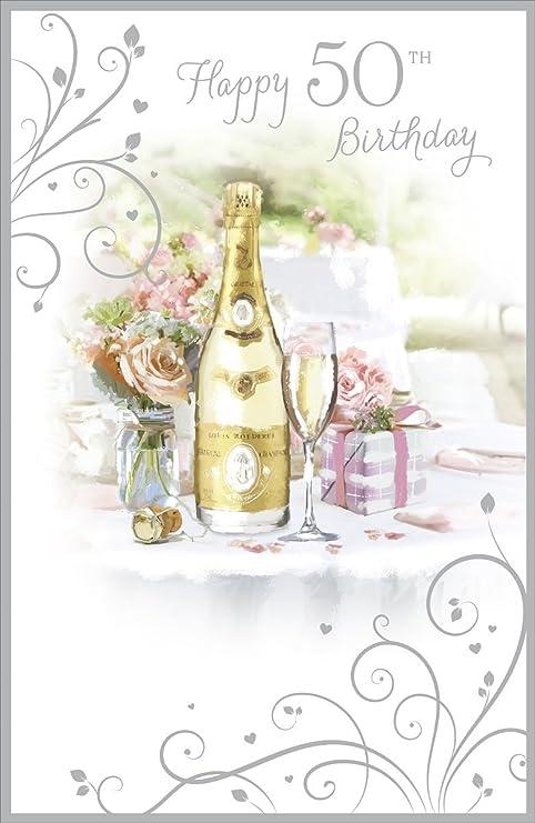 Cards Galore Online Tarjeta de cumpleaños de 50 años para ...