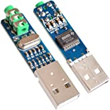 Diymore 5V USB Power PCM2704 Mini USB Sound Card DAC Decoder Board for PC Computer