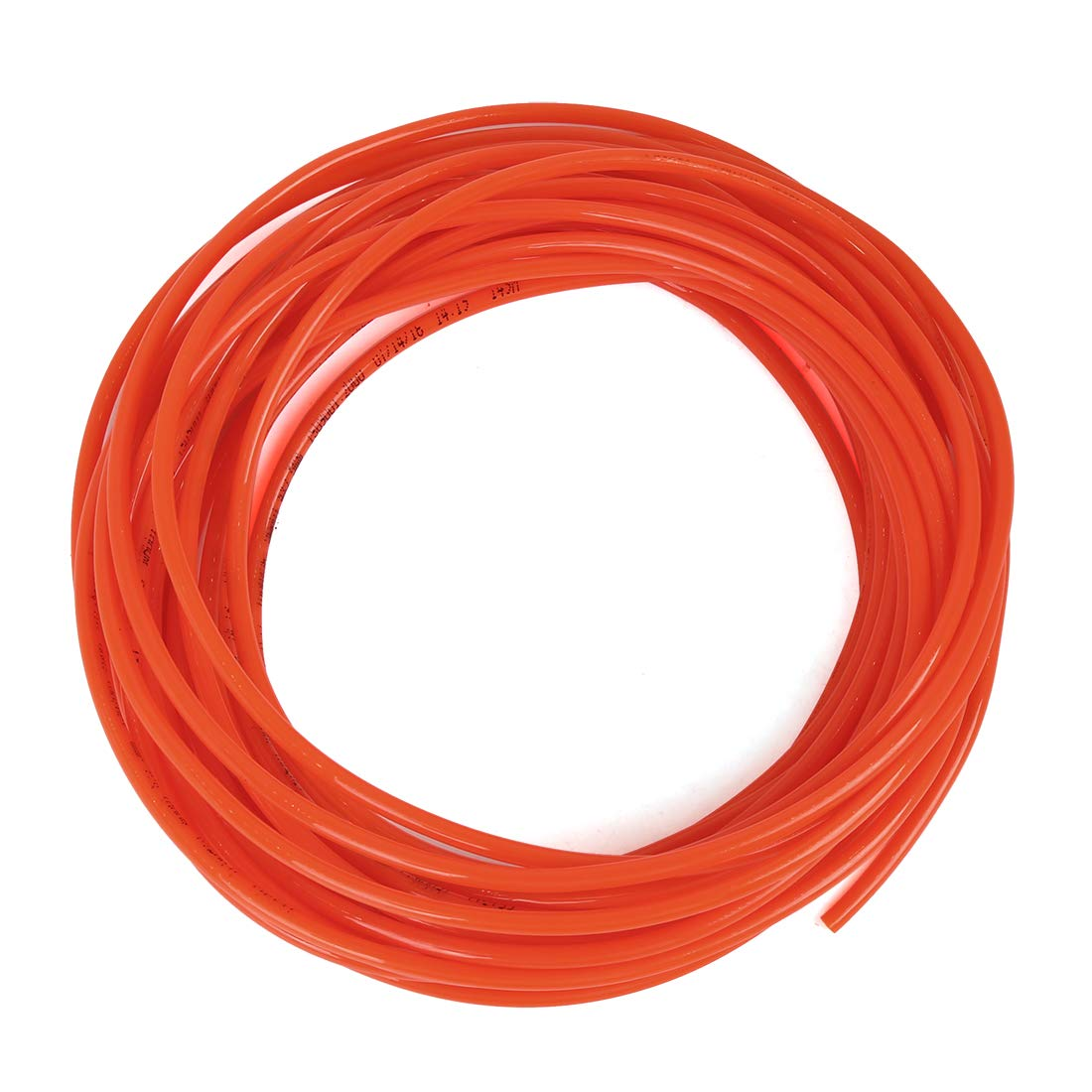X AUTOHAUX 10 Meter 32.8ft 2.5mm Inner Dia Universal Polyurethane PU Vacuum Hose Tube Red for Car