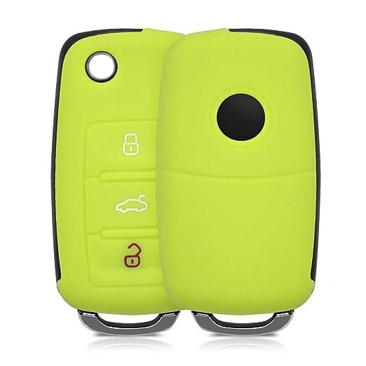 26 opinioni per kwmobile Cover in silicone per chiave con 3 tasti Protezione per chiave auto-