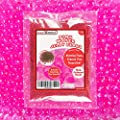 1 Pound Bag of Pink Water Gel Pearls Beads for Home Decoration, Wedding Centerpiece, Vase Filler, Plants, Toys, Education (Makes 12 Gallons)