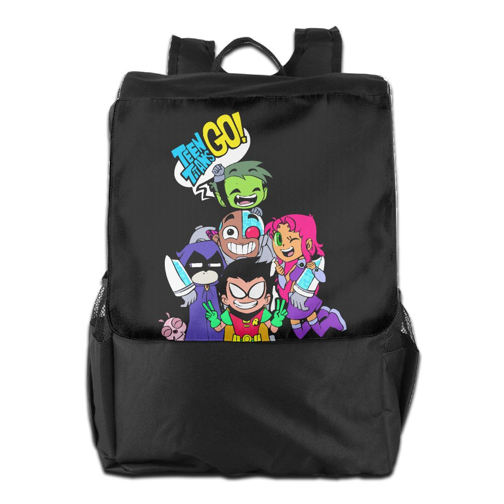 6c139f8a30 Amazon.com  Teen Titans Go Comedy Adventure Outdoor Backpack Travel Bag   Sports   Outdoors