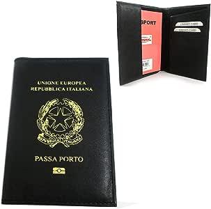 Italiano Italia – Funda para pasaporte de piel auténtica pantalla ...