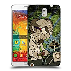 Head Case Designs Coil Mad Scientists Gel Back Case Cover for Samsung Galaxy Note 3 N9000 N9002 N9005