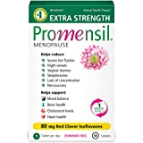Promensil Extra Strength | Menopause Supplement with Red Clover | Severe Symptom Relief & Natural Multi-Symptom Support | Red