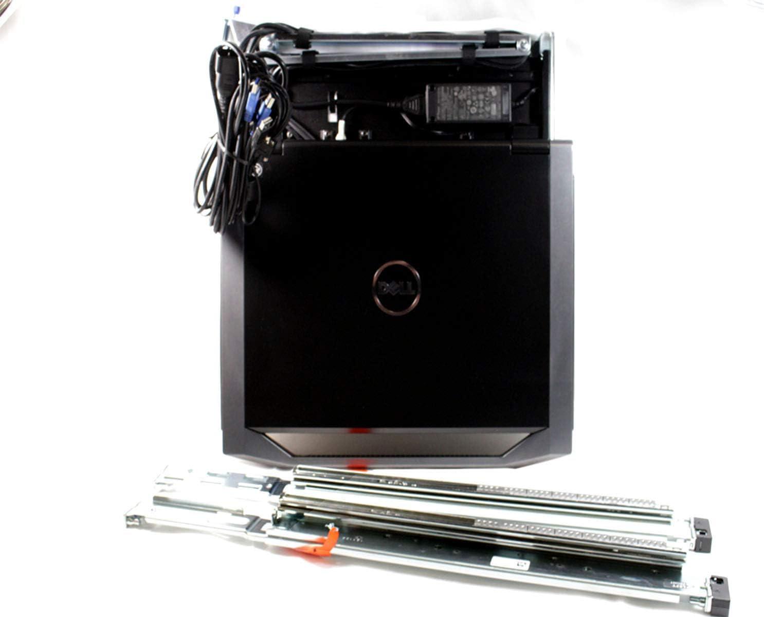 """Dell 18.5"""" 1U Rackmount LED KMM Console (DKMMLED185-G01)"""