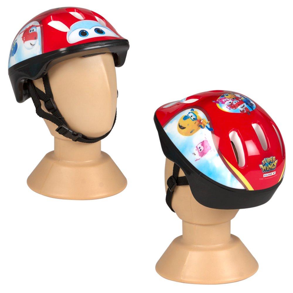 Super Wings - Casco protección para bici, patinete o monopatín (ColorBaby 77015)
