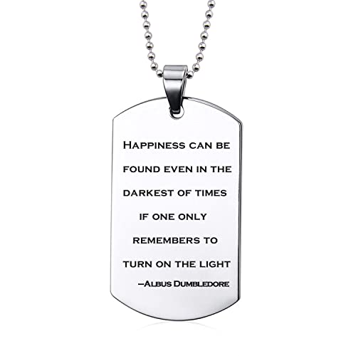 Amazon inspirational pendants necklace albus dumbledore quote inspirational pendants necklace albus dumbledore quote jewelry christmas gift for friends aloadofball Image collections