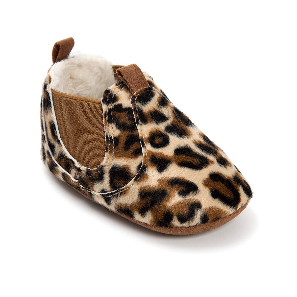 Morbuy Baby Wanderer Schuhe 0-18 Monate Neugeborene Babyschuhe Leopardenprint M/ädchen Kleinkind Weiche Alleinige Anti-Rutsch Krabbelschuhe