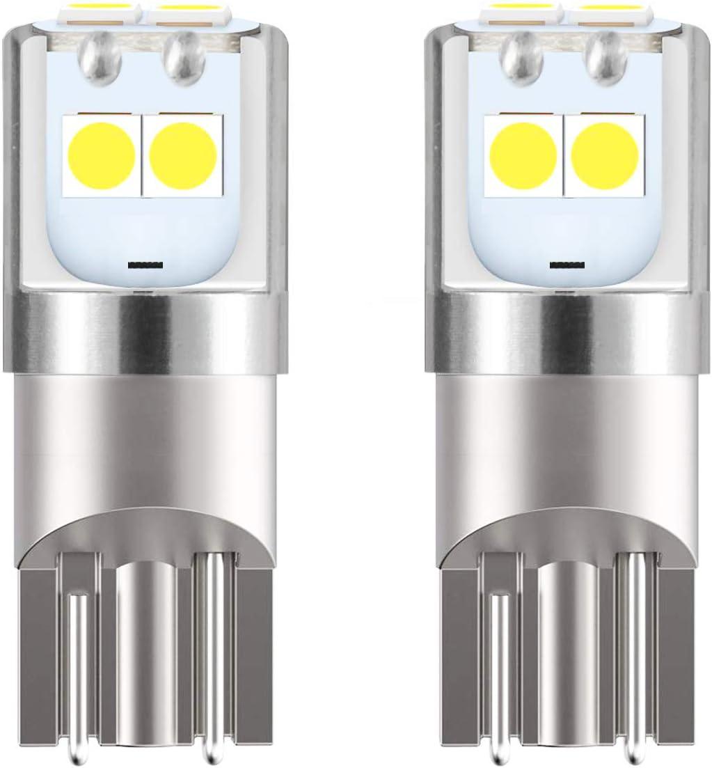 JDM ASTAR High Performance 3030 Chipsets 194 168 2825 W5W T10 Brgiht White LED Bulbs