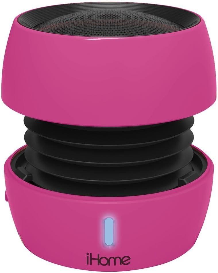 iHome Bluetooth Rechargeable Mini Speaker System – Purple