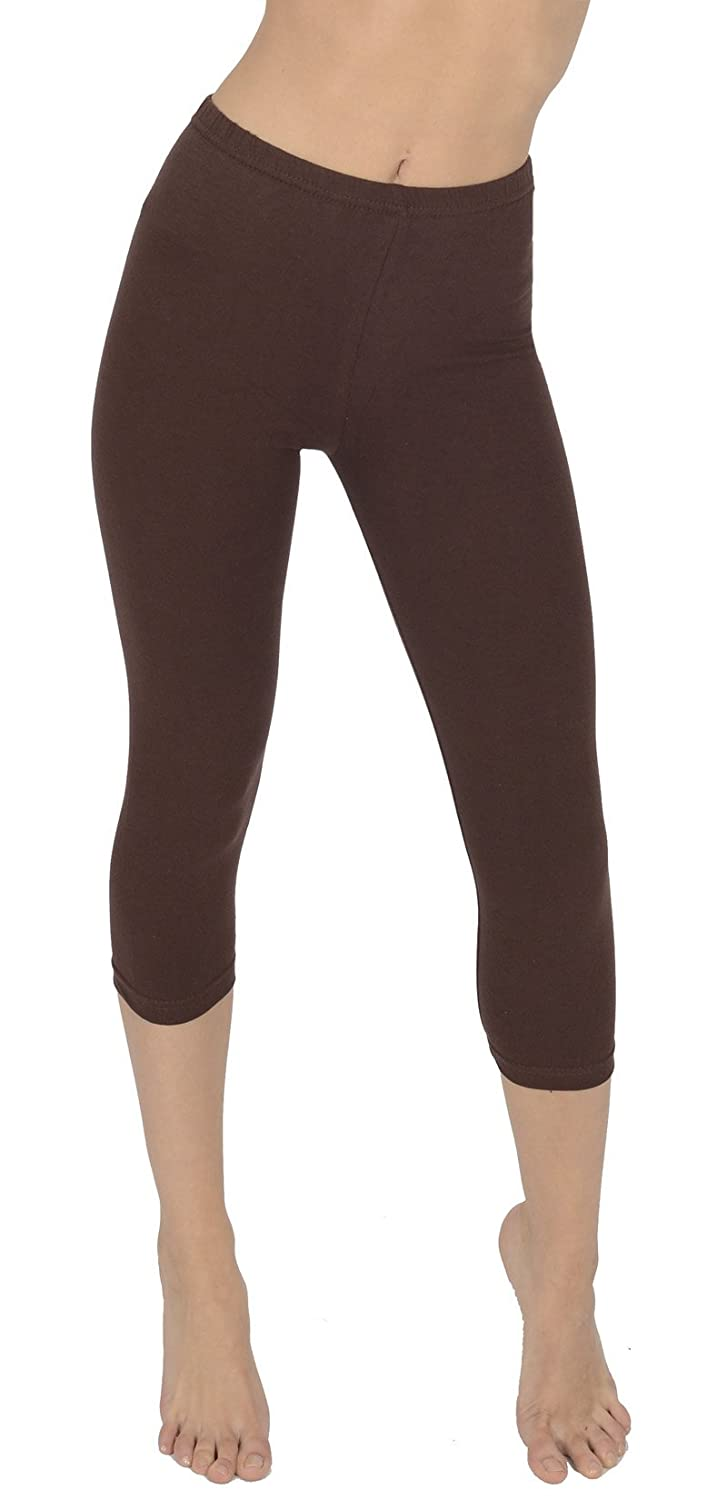 Women's Cropped 3/4 Soft Leggings By Today Is Her ®, Plus Sizes, Extra Comfort Range A02-Parent