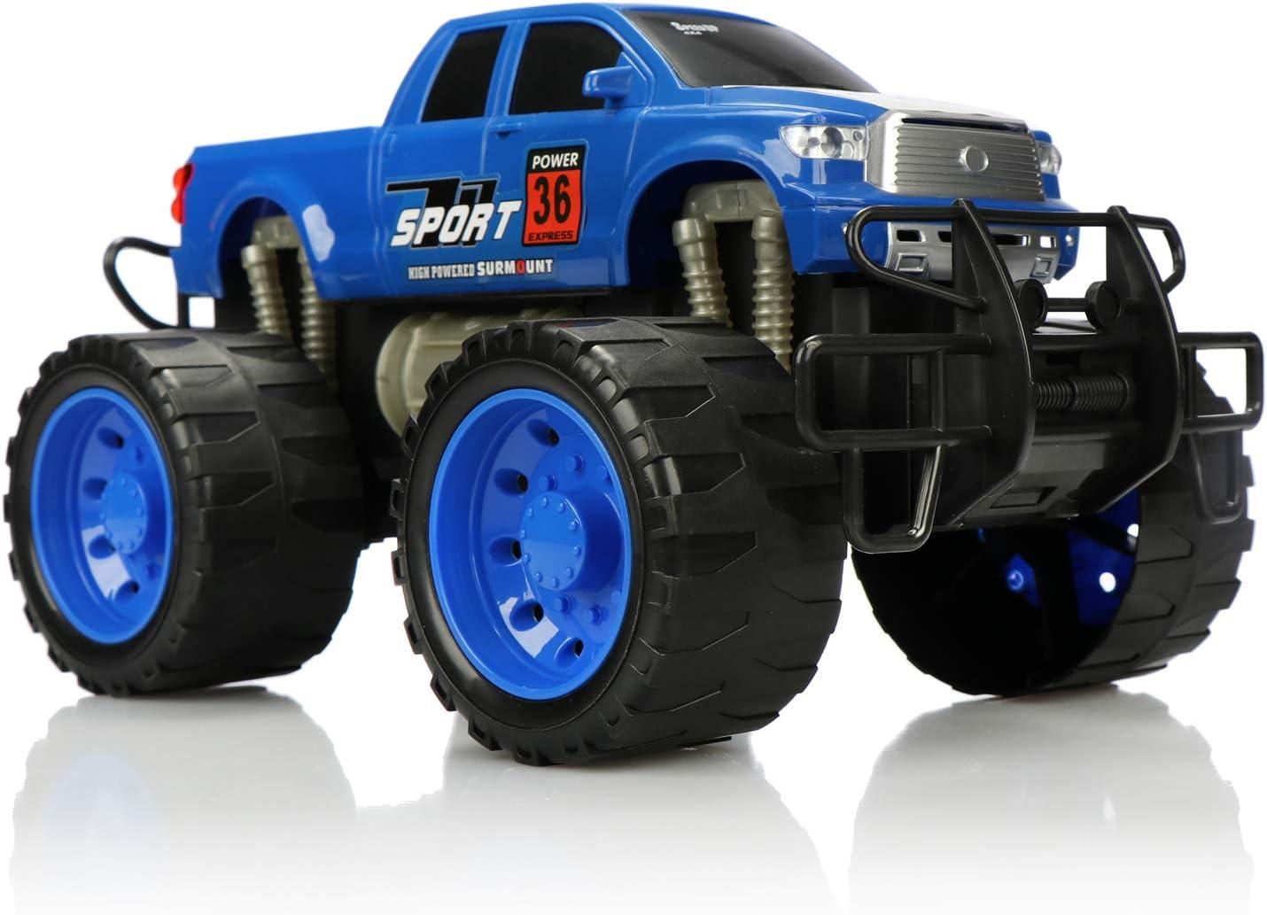 com four® XL Monstertruck, Aufziehfahrzeug für Kinder