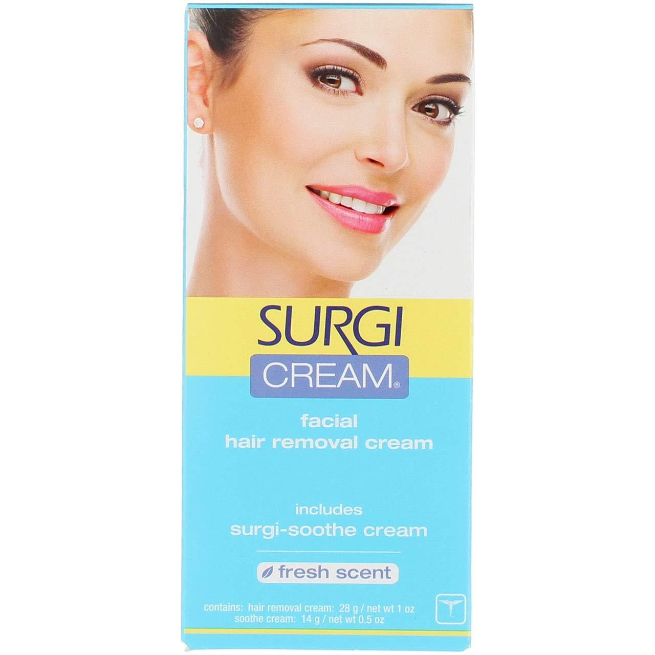 surgi cream hair remover for face