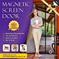 Magnetic Screen Door, Mesh Curtain - Keeps Bugs & Mosquitoes Out, Lets Cool Breeze In - 6 Month Money Back Guarantee - Premium Quality - Toddler And Pet Friendly