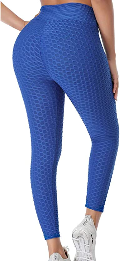Sykooria High Waisted Leggings for Women Yoga Pants with Pockets Women Workout Leggings