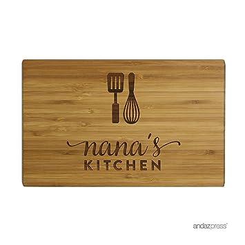 Amazon.com: Pequeña tabla de cortar Andaz Press de ...