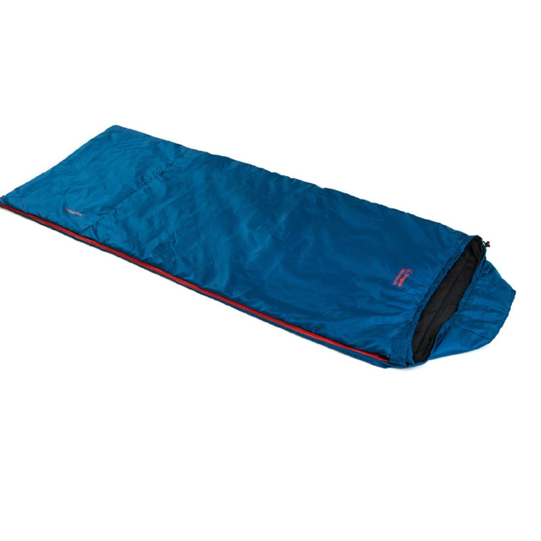 Snugpak Travelpak Traveller Sleeping Bag Left Handed Petrol Blau