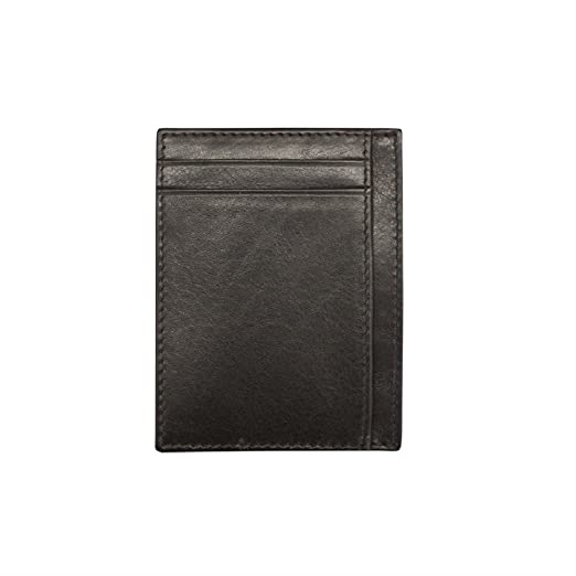 7a21819bf948 iLi Leather RFID Blocking Credit Card Wallet (Black) at Amazon Men's ...