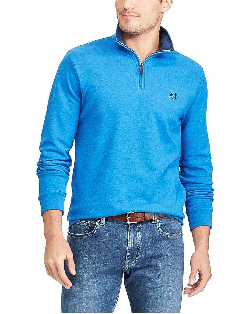 Chaps Men's Big &Tall Zip Placket Sweater