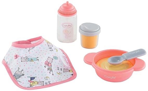 Amazon.com: Corolle Mon Premier Poupon Mealtime Set Juguete ...