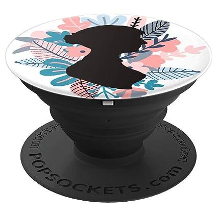 Amazon.com: Jane Austen Silueta Floral Regalo para los ...