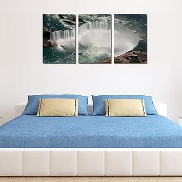Amazon.com: Overlooking Transnational Waterfall Niagara Falls Water ...